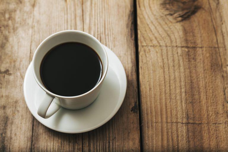 kaffe före träning