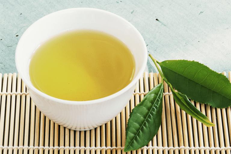 grönt te för viktminskning