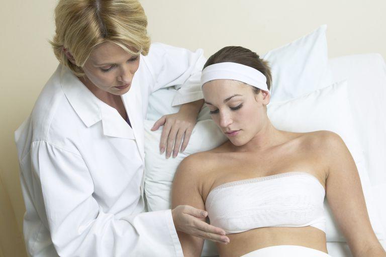 efter bröstförstoring smärta