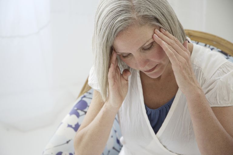klimakteriet huvudvärk