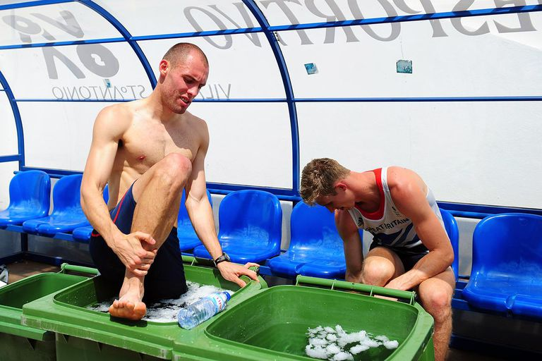 återhämtning efter träning isbad